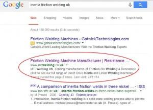 Mti welding google position