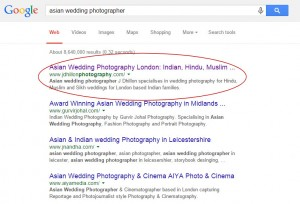 J Dhillon Photography top seo positions