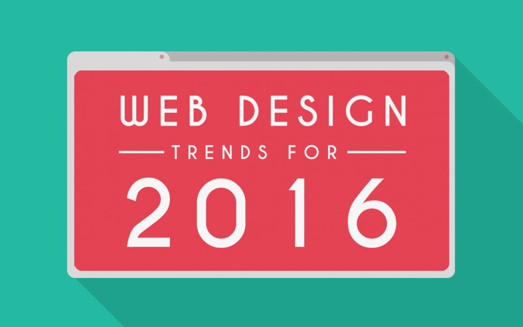 Web Design Trends For 2016