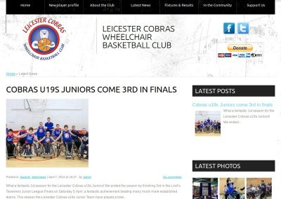 Leicester Cobra's Blog