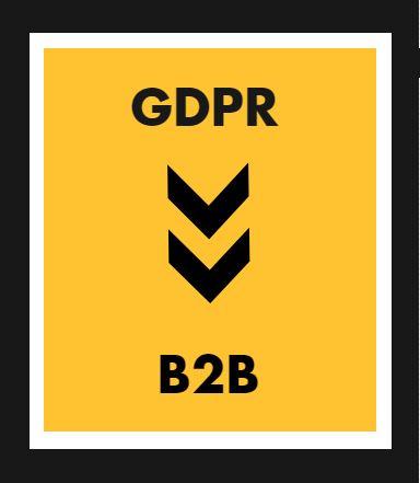GDPR and B2B
