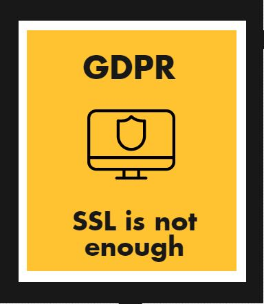 GDPR is more than SSL